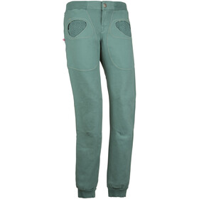 E9 Ondart Slim Trousers Women, sage green